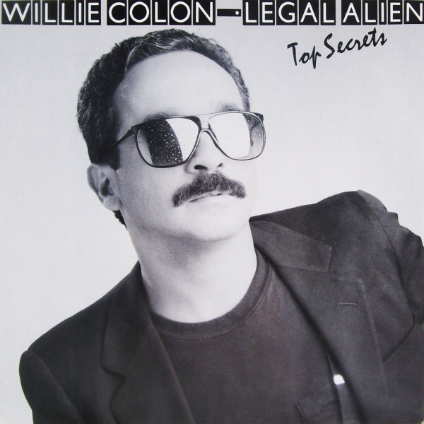 Willie Colón Top Secrets cover art