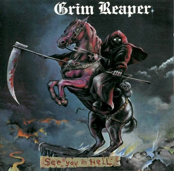 Grim Reaper See You in Hell Cover Art