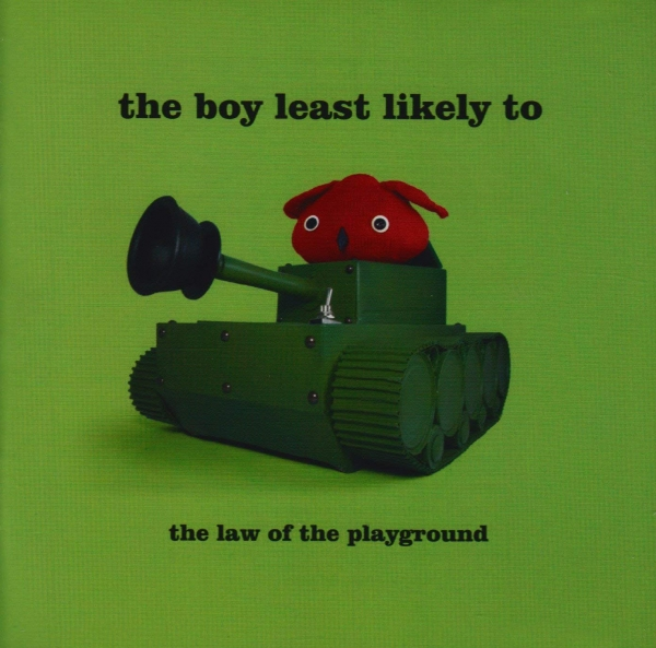 The Boy Least Likely To The Law of the Playground cover art