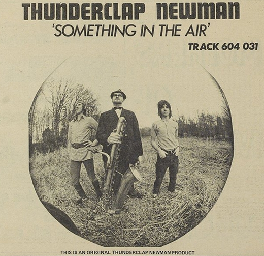 Thunderclap Newman Something in the Air Cover Art