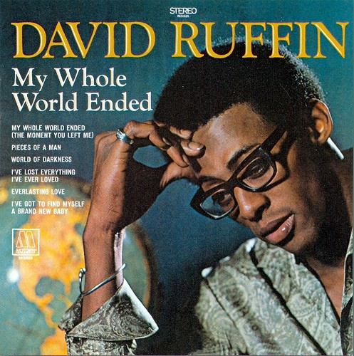 David Ruffin My Whole World Ended Cover Art