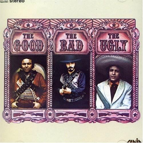 Willie Colón The Good, The Bad, The Ugly Cover Art