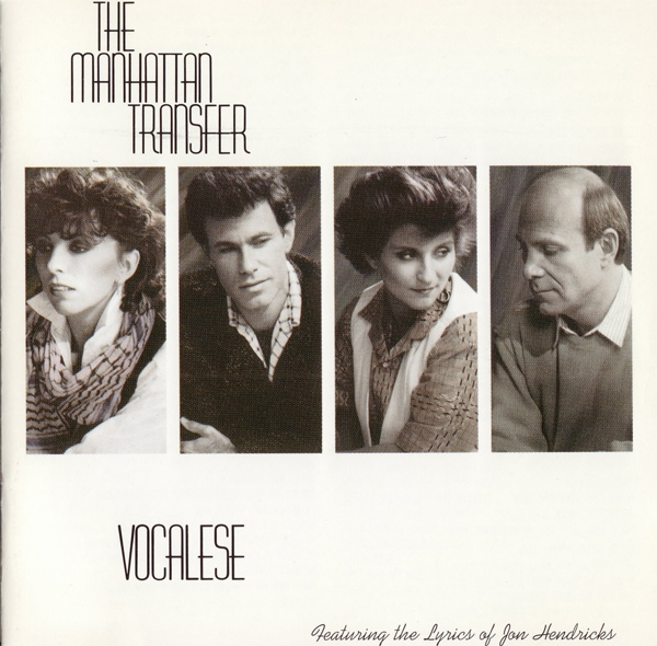 The Manhattan Transfer Vocalese cover art