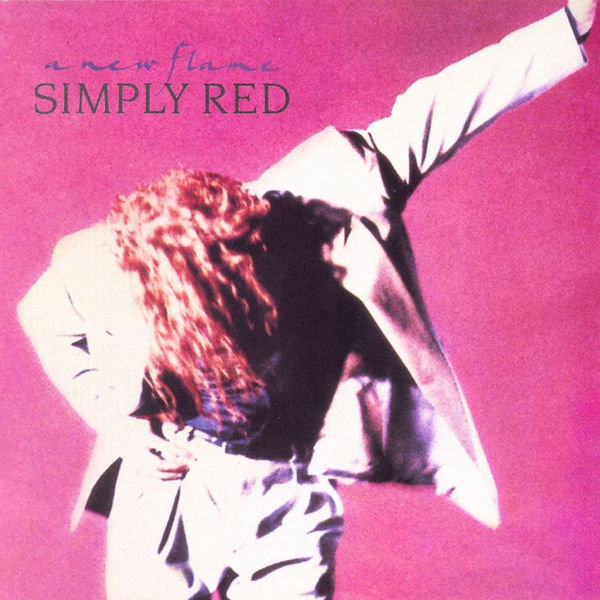 Simply Red A New Flame Cover Art