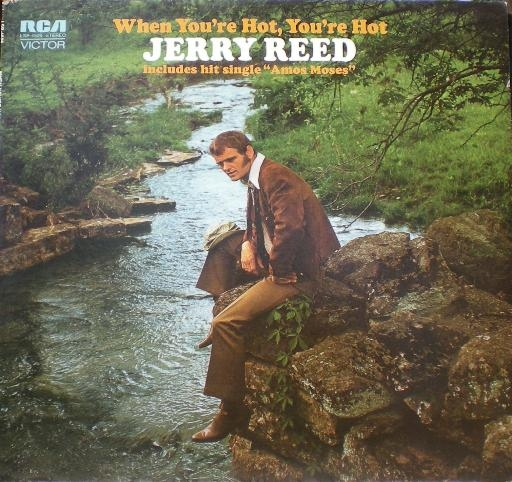 Jerry Reed When You're Hot, You're Hot Cover Art