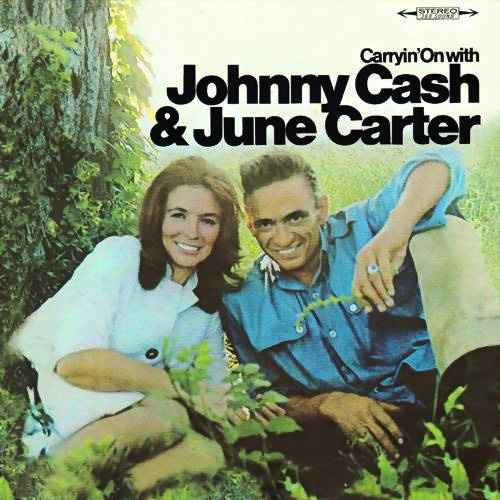 June Carter Cash Carryin' On With Johnny Cash & June Carter cover art