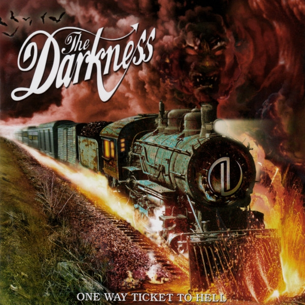 The Darkness One Way Ticket to Hell …and Back cover art