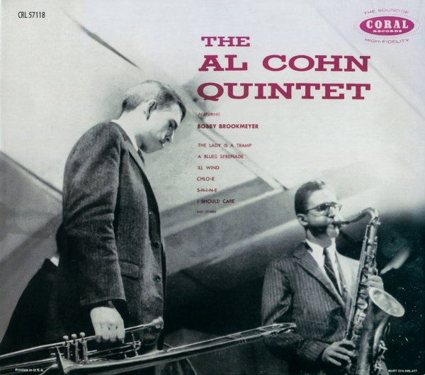Al Cohn Quintet feat. Bob Brookmeyer The Al Cohn Quintet Cover Art