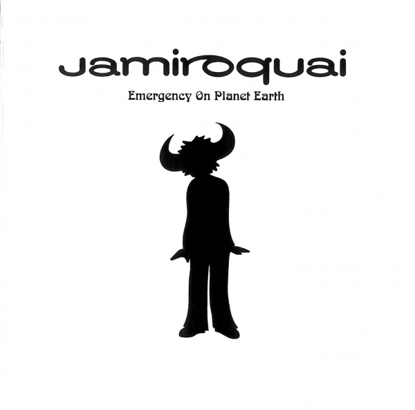 Jamiroquai Emergency on Planet Earth cover art