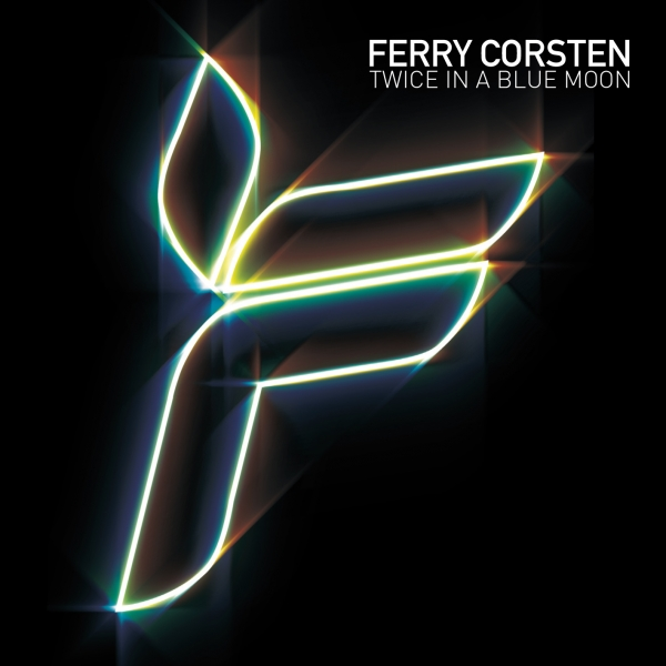 Ferry Corsten Twice in a Blue Moon Cover Art