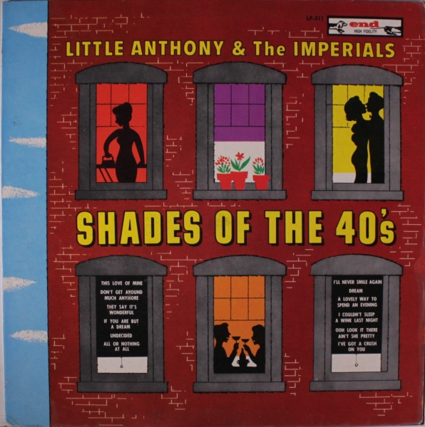 Little Anthony & The Imperials Shades of the 40's cover art