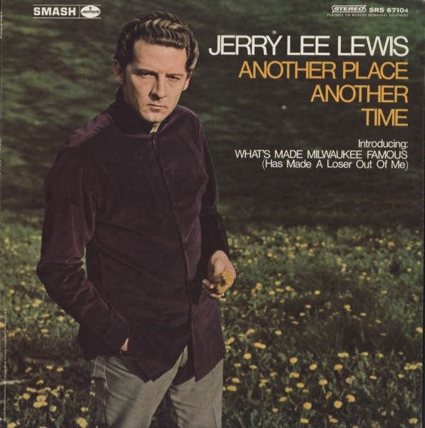 Jerry Lee Lewis Another Place Another Time cover art