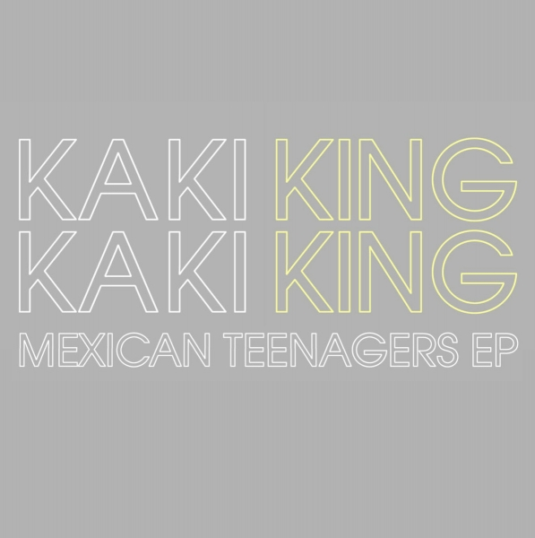 Kaki King Mexican Teenagers EP Cover Art