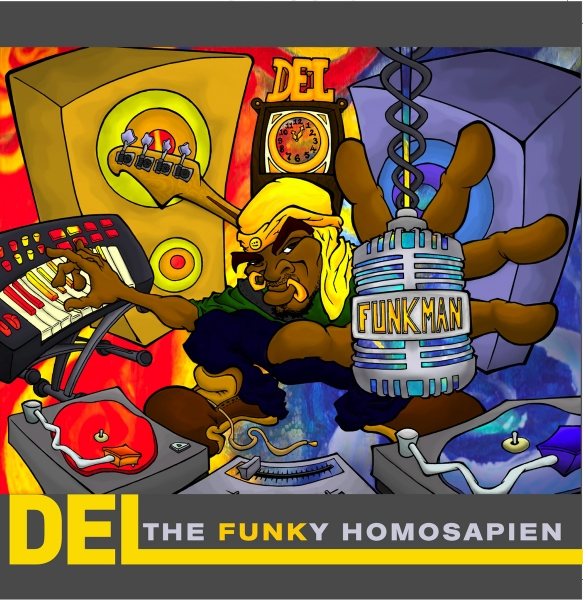 Del the Funky Homosapien Funk Man (The Stimulus Package) cover art