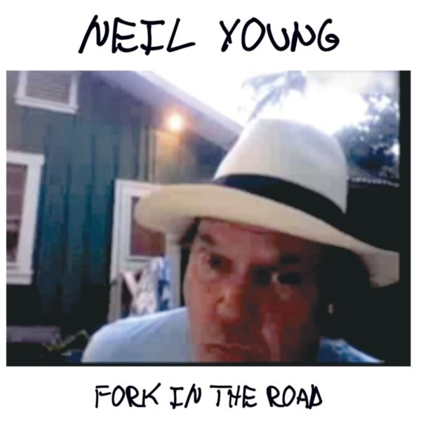 Neil Young Fork in the Road cover art