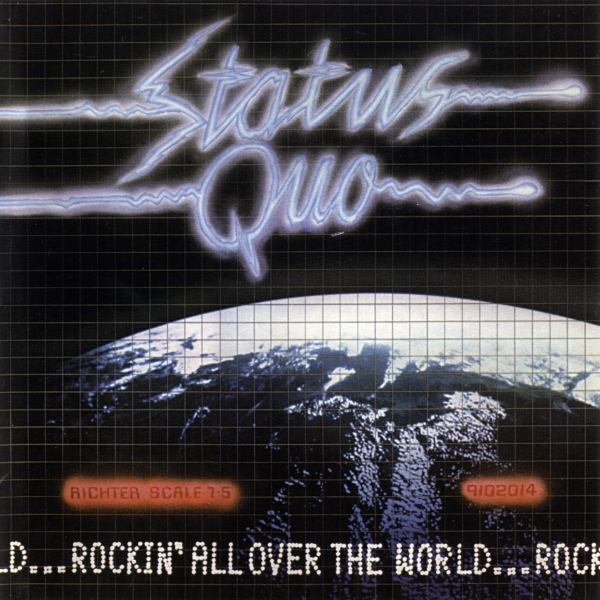 Status Quo Rockin' All Over the World cover art