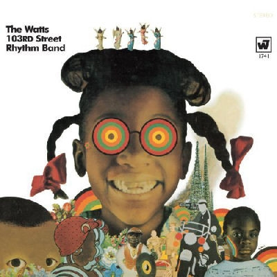 The Watts 103rd Street Rhythm Band Hot Heat and Sweet Groove Cover Art