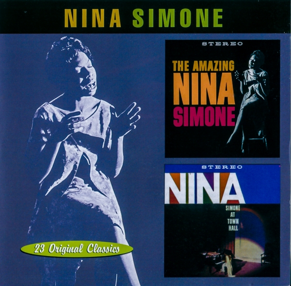 Nina Simone The Amazing Nina Simone / Nina Simone at Town Hall Cover Art