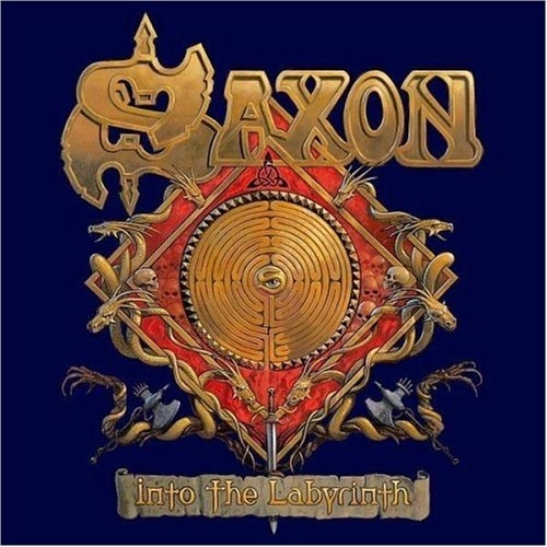 Saxon Into the Labyrinth Cover Art