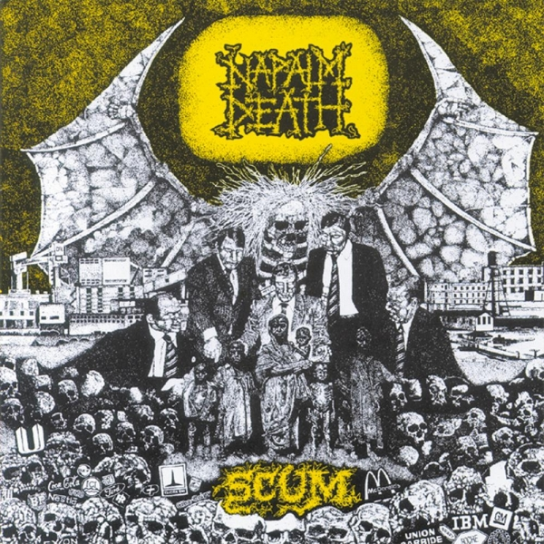 Napalm Death Scum cover art