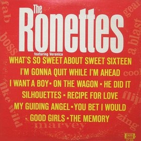 The Ronettes The Ronettes featuring Veronica cover art
