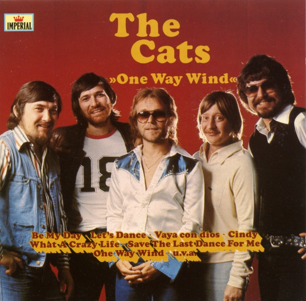 The Cats One Way Wind Cover Art