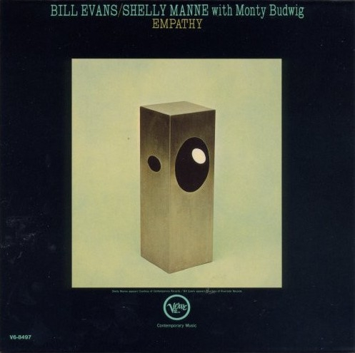 Shelly Manne / Bill Evans with Monty Budwig Empathy Cover Art