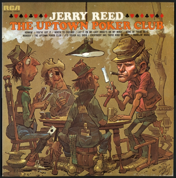 Jerry Reed The Uptown Poker Club Cover Art