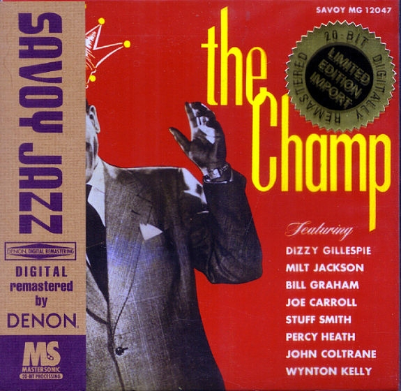 Dizzy Gillespie The Champ cover art