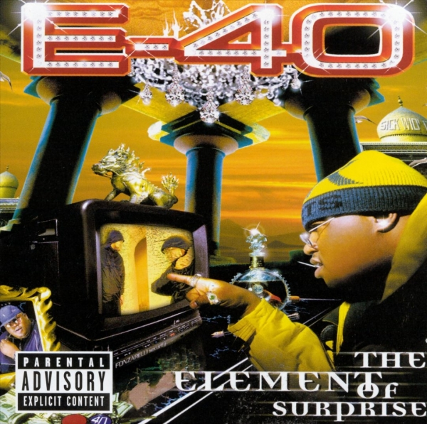 Mack 10 The Element of Surprise cover art