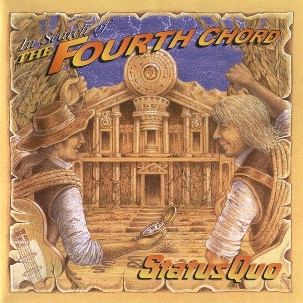 Status Quo In Search of the Fourth Chord Cover Art