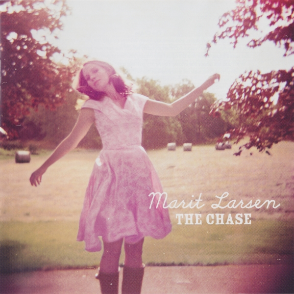 Marit Larsen The Chase cover art