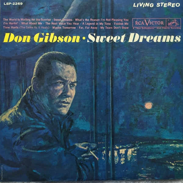 Don Gibson Sweet Dreams Cover Art