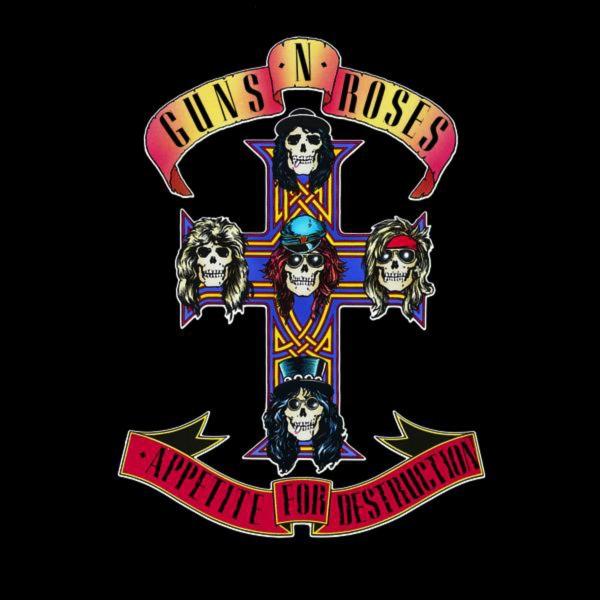 Guns N' Roses Appetite for Destruction cover art