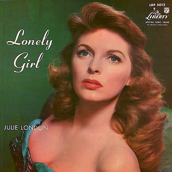 Julie London Lonely Girl cover art