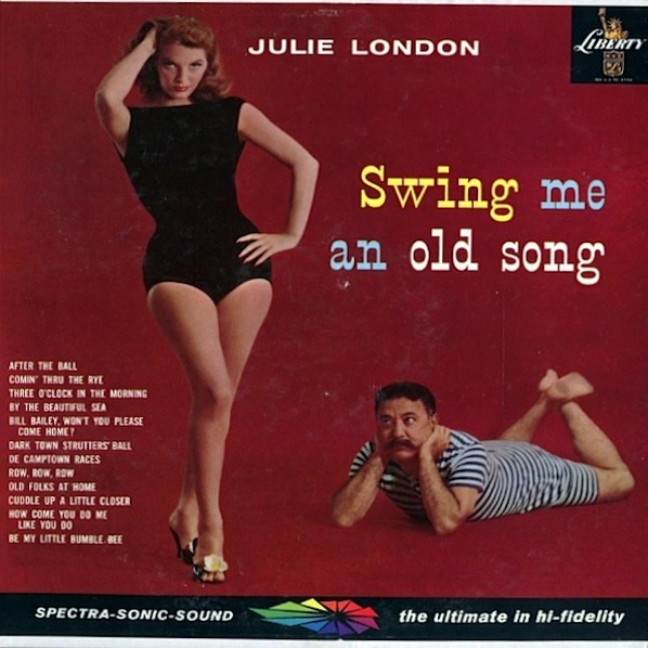 Julie London Swing Me an Old Song cover art
