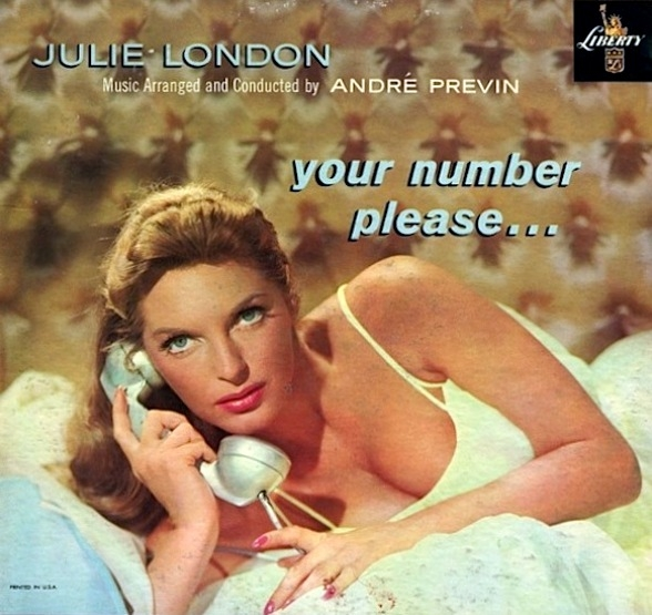Julie London Your Number Please… cover art