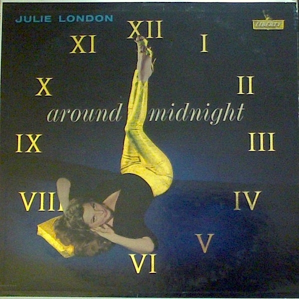 Julie London Around Midnight cover art