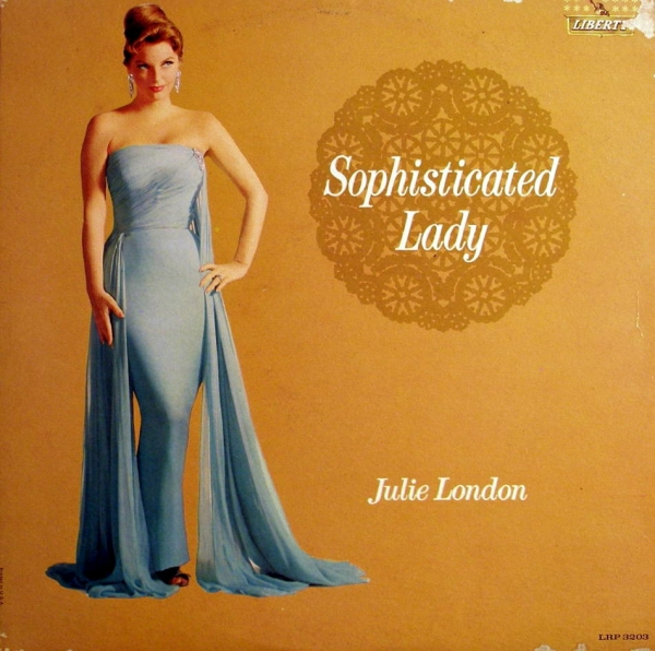 Julie London Sophisticated Lady cover art