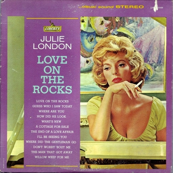Julie London Love on the Rocks cover art
