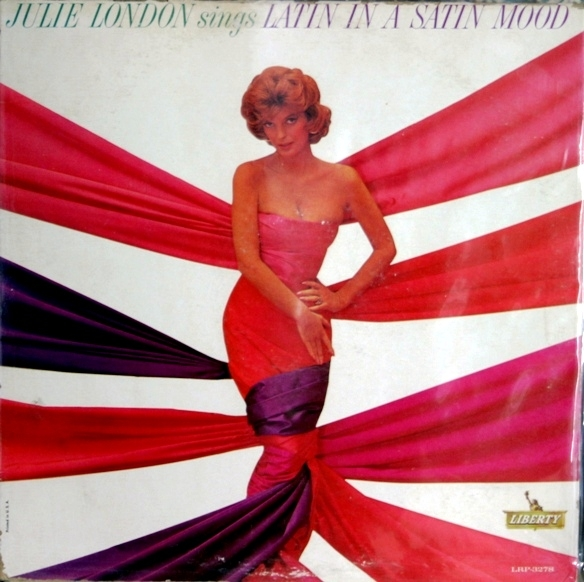 Julie London Latin in a Satin Mood cover art