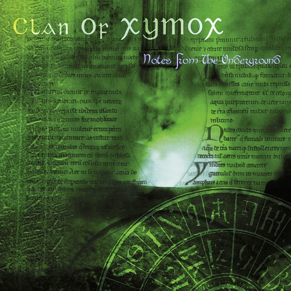 Clan of Xymox Notes From the Underground Cover Art