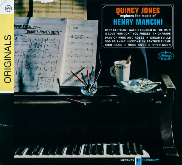 Quincy Jones Quincy Jones Explores the Music of Henry Mancini cover art