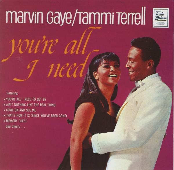 Tammi Terrell You're All I Need cover art