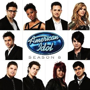American Idol Ensemble American Idol: Season 8 Cover Art