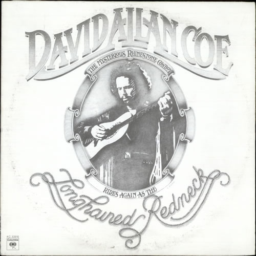 David Allan Coe Longhaired Redneck cover art