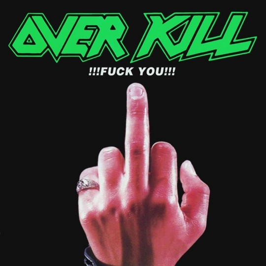 Overkill Fuck You Cover Art
