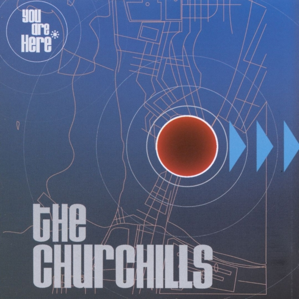 The Churchills You Are Here cover art