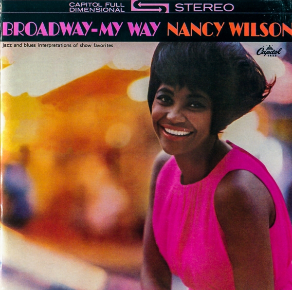 Nancy Wilson Broadway - My Way Cover Art