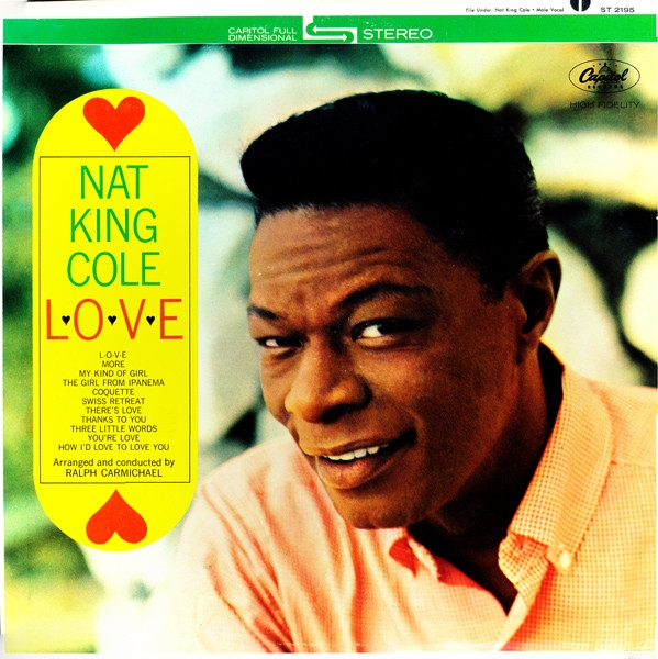 Nat King Cole L-O-V-E cover art